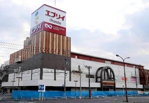 エブリィokanaka津高(ショッピングセンター/アウトレットモール)まで1448m