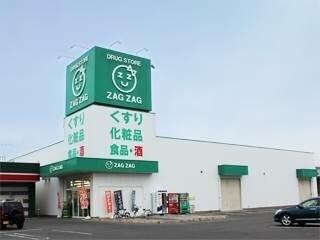 ザグザグ西長瀬店(ドラッグストア)まで804m