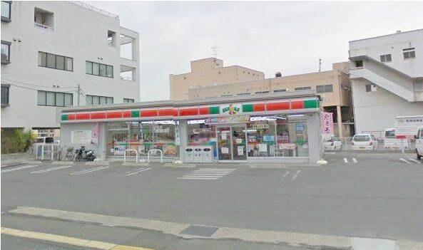 サンクス岡山岡南町店(コンビニ)まで357m