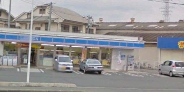 ローソン岡山十日市店(コンビニ)まで452m