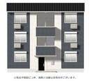 (仮)D-room平井6丁目 A棟の外観