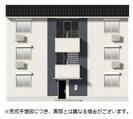 (仮)D-room平井6丁目 B棟の外観