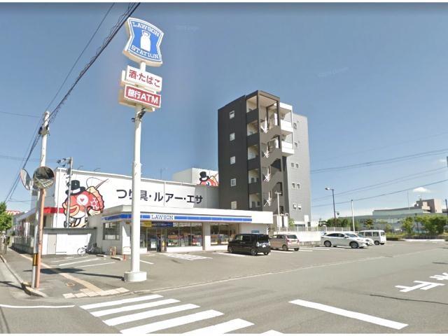 ローソン徳島中洲町三丁目店(コンビニ)まで689m