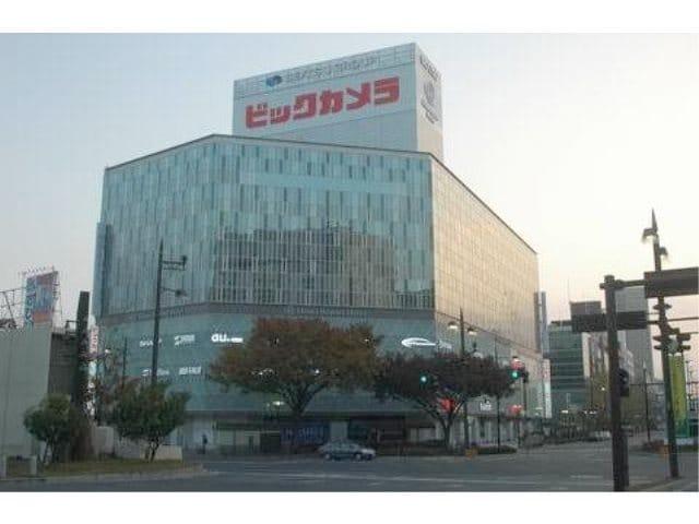 ビックカメラ岡山駅前店(電気量販店/ホームセンター)まで441m
