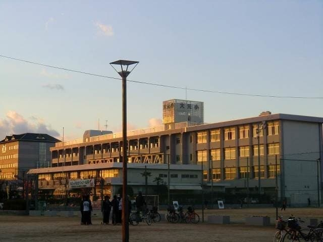岡山市立大元小学校(小学校)まで1057m