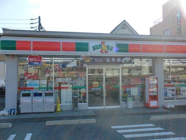 サンクス岡山清心女子大前(コンビニ)まで399m
