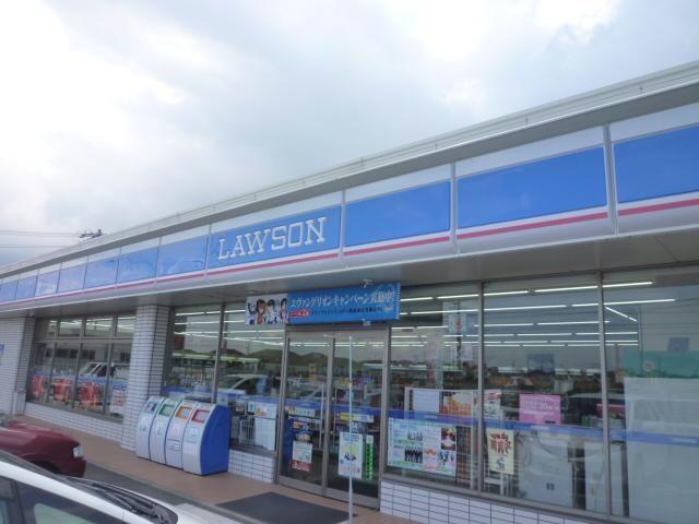 ローソン津白塚店(コンビニ)まで808m