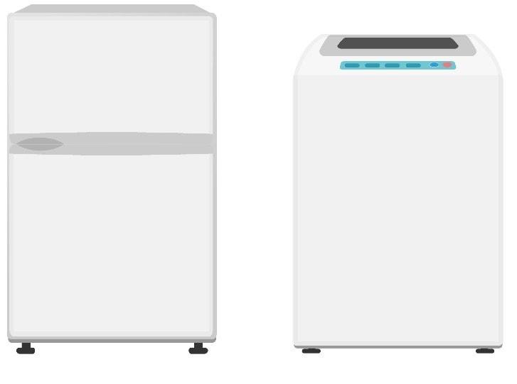 冷蔵庫・洗濯機(中古)付き