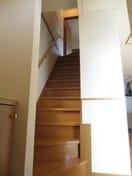 玄関スペース&内階段