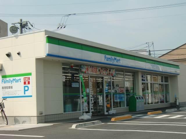 ファミリーマート倉敷二子店(コンビニ)まで215m