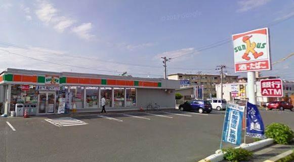 サンクス東岡山店(コンビニ)まで846m