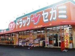 ドラッグセガミツシマモール店(ドラッグストア)まで1816m