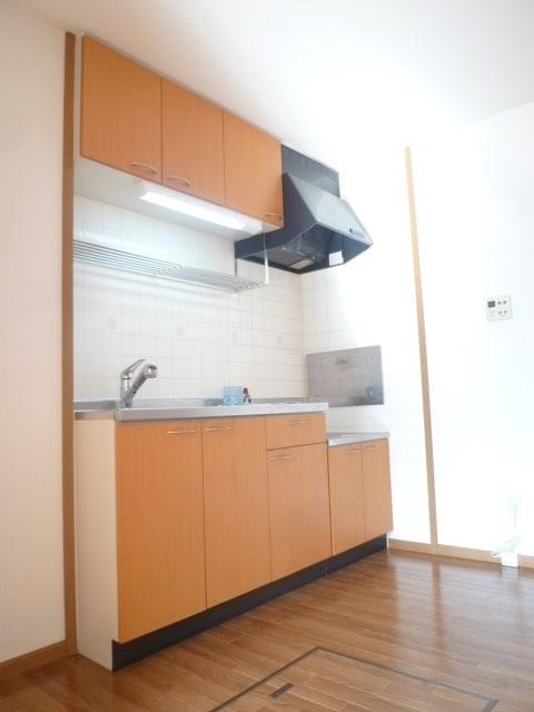 収納面も安心のキッチン