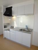 キッチン収納スペースもタップリ。