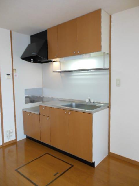 ゆったりとしたキッチンです。