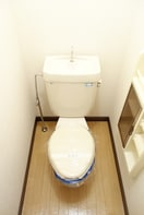 明るいおトイレですね