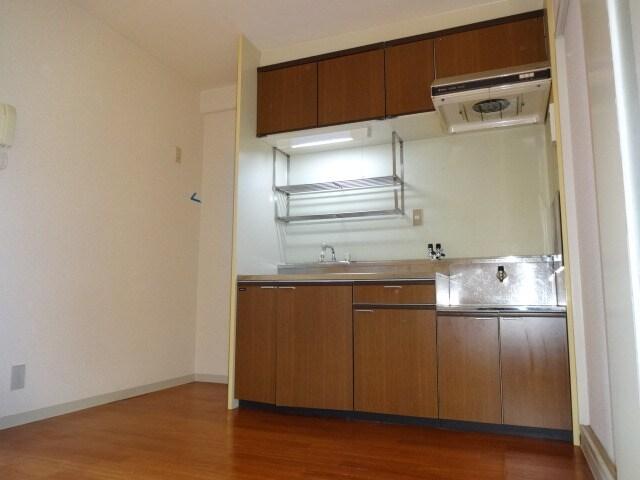 シンクや調理スペースがゆったりです。