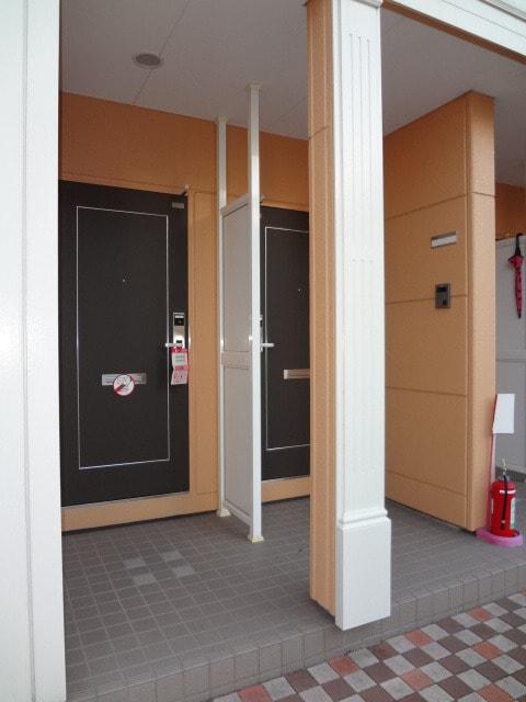 オシャレな玄関です。