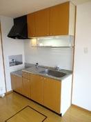 収納たっぷり可能なキッチン