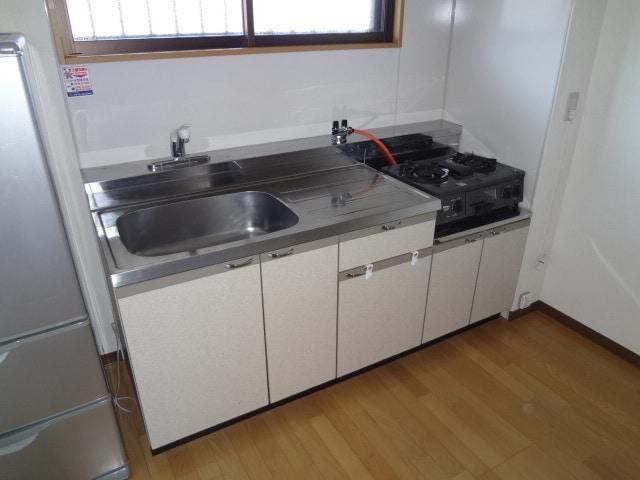 シンクや調理スペースもゆったりです。