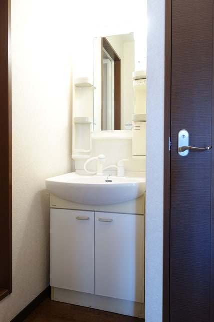 使い勝手の良い洗面台