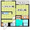 札幌市営地下鉄東豊線/福住駅 バス:8分:停歩1分 2階 築17年 1LDKの間取り