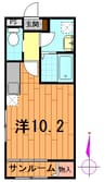 奥羽本線・山形線/北山形駅 徒歩19分 1階 築4年 1Rの間取り