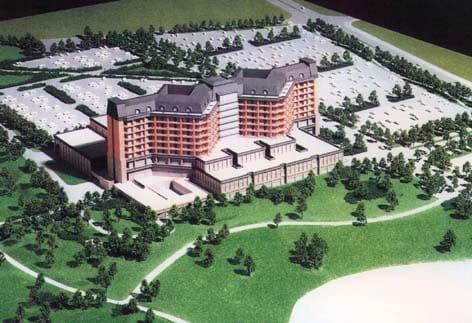 山形県立中央病院 1471m
