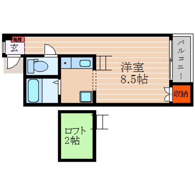 独立キッチンのお部屋です