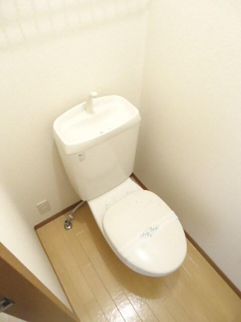 明るくゆったりとしたおトイレ