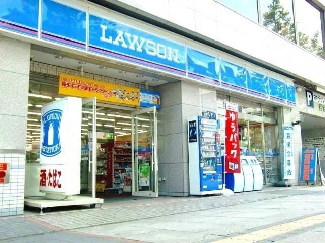 ローソン岡山大供本町店(コンビニ)まで215m