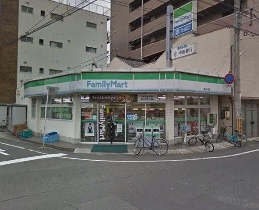ファミリーマート岡山京町店(コンビニ)まで239m