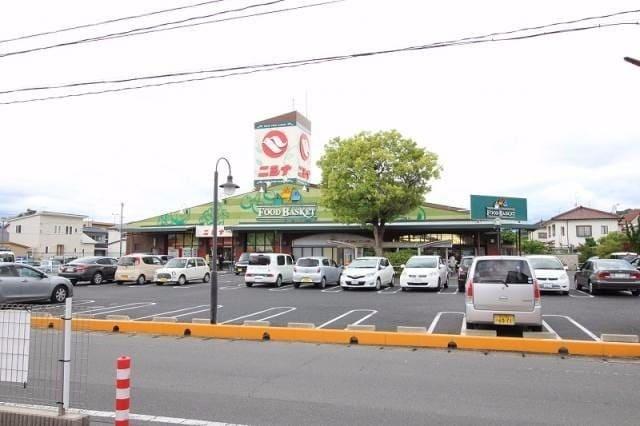 ニシナフードバスケット三門店(スーパー)まで397m
