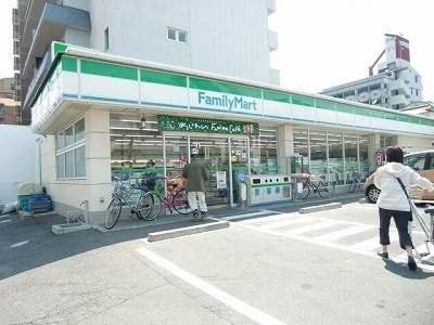 ファミリーマート岡山中山下北店(コンビニ)まで245m