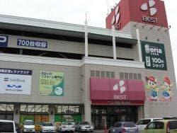 ベスト電器岡山本店(電気量販店/ホームセンター)まで724m