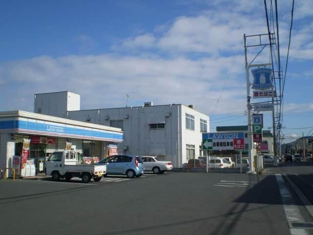 ローソン岡山浜三丁目店(コンビニ)まで34m
