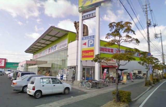 ディオ岡山西店(スーパー)まで385m
