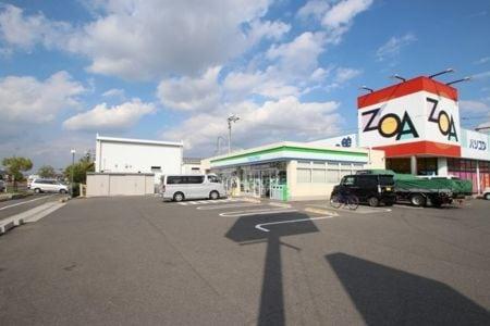 ファミリーマート岡山田中店(コンビニ)まで137m