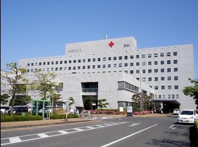 総合病院岡山赤十字病院(病院)まで981m