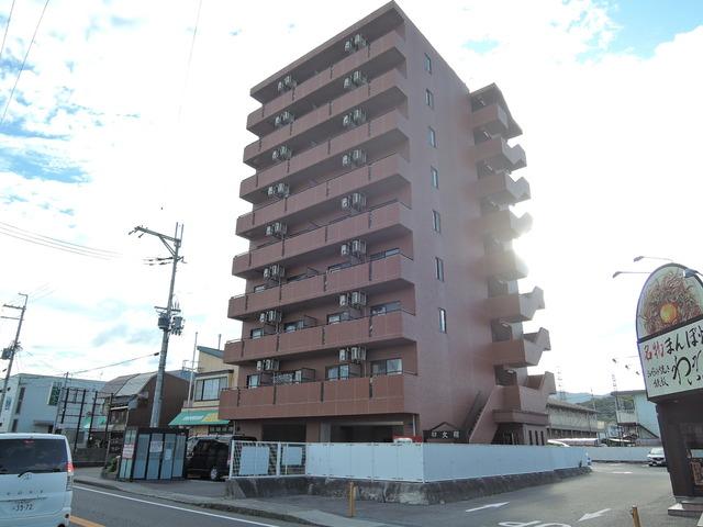 鉄筋コンクリート造の賃貸マンションです。