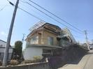 鶴島アパートの外観