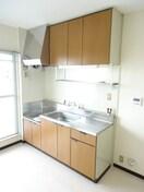 ガスコンロ設置可キッチン。