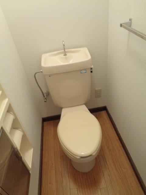 明るいおトイレ