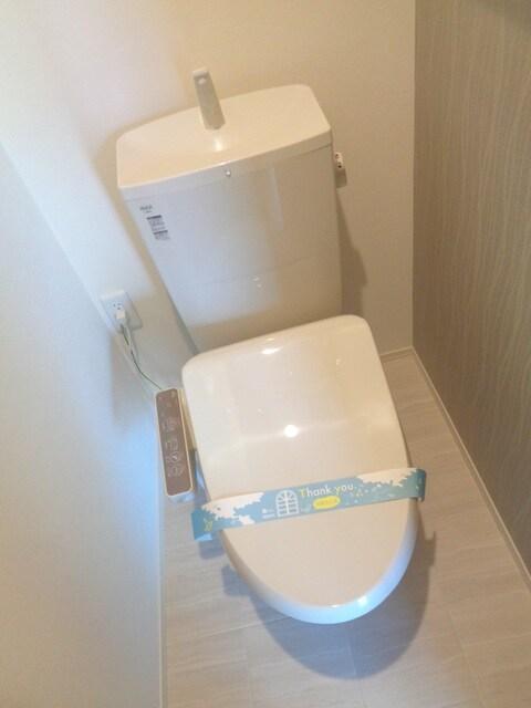 快適な温水洗浄便座機能