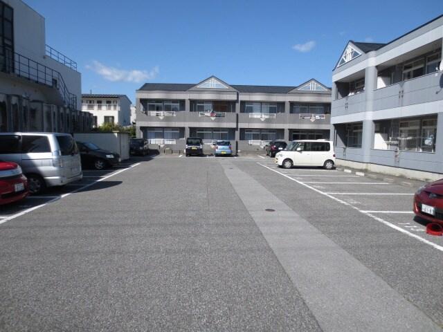 専用駐車場です