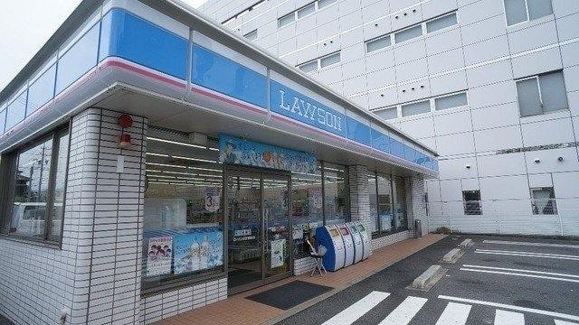 ローソン四日市堀木店(コンビニ)まで871m