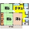町田貸住宅(高崎市新保町) 3DKの間取り