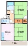 近鉄山田線・鳥羽線・志摩線/宮町駅 徒歩6分 2階 築34年 2DKの間取り