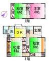 近鉄山田線・鳥羽線・志摩線/伊勢市駅 徒歩16分 2階 築40年 4DKの間取り