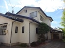 井川城二世帯住宅の外観